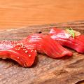料理メニュー写真三昧寿司(まぐろ)