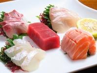 ぎりぎりまで活かしたお魚は驚きの新鮮さ!ご堪能下さい