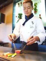 一流の料理人が上質な肉を調理致します。