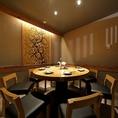 和モダンなプライベート個室。接待や歓迎会、合コンなど、様々なお食事・飲み会に対応可能◎
