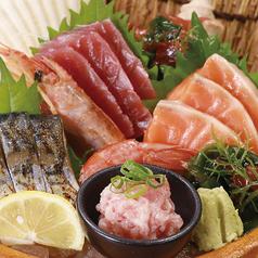海鮮五種盛り合せ