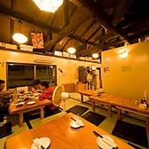 【2階座敷席】最大宴会人数30名様まで利用可能です。2階は、20名様以上で貸切可能◎お客様で生ビールを注ぐことが出来ます♪