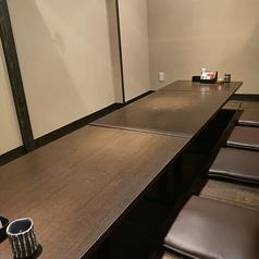10名様でご利用いただける半個室席です♪