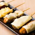 料理メニュー写真チーズ串