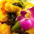 料理メニュー写真イカと野菜の炒め
