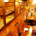 テーブル席を含めた大人数の大宴会は佳佳におまかせ!テーブル席お座席と用途に合わせて宴会を演出いたします。