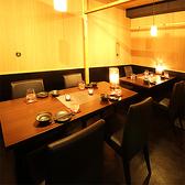【全席個室】2名様~最大30名様まで対応♪光と影の織りなす落ち着きの美空間個室で贅沢なひとときをお楽しみください。