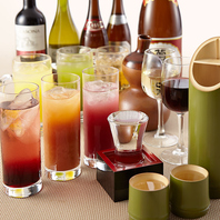 豊富なアルコール類
