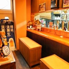 食事と会話をゆっくりお楽しみいただけるカウンター席。伝統の琉球料理とこだわりの創作料理をご堪能下さい。