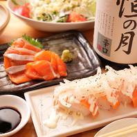 お寿司やお造りも食べ放題☆