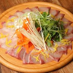 鮮魚のゆずしゃぶしゃぶは旬の海鮮を使った年中楽しめる逸品