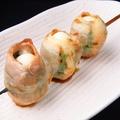 料理メニュー写真【野菜串ランキング 3位】うずら大葉串