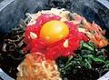 料理メニュー写真石焼桜ユッケピビンバ