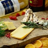 世界各国のチーズによるチーズ料理