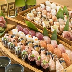 寿司 食べ放題 海の音 マリーナホップ 店の写真