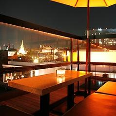 新宿まで見渡せる夜景