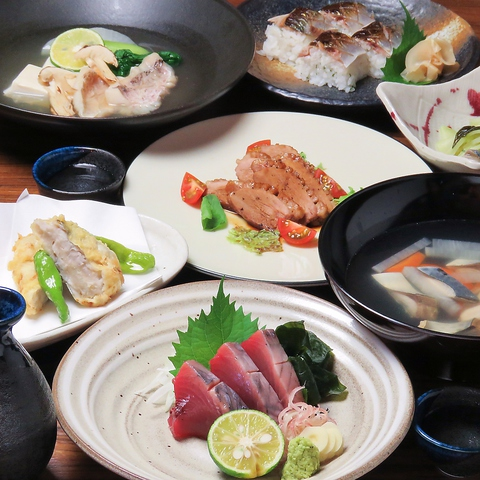 料理とお酒、贅沢なひととき・・・SIKI ★季節毎に変わる料理で何度来ても飽きない!!