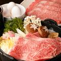 料理メニュー写真特選和牛【すき焼き】※注文は2人前より