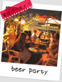 【夏のご宴会に】テラスでパーティーは夏だけの贅沢!