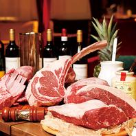 厳選した塊肉を和洋のスタイルで提供!肉食放プラン有★