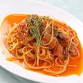 料理メニュー写真鰻のトマト仕立て リングイネ