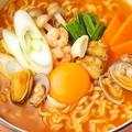 料理メニュー写真韓国ラーメン