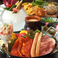 ルーフトップビアガーデン Roins BBQの写真