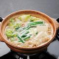 料理メニュー写真もつ鍋