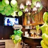 誕生日や記念日にはバルーンアートを店内一面にご用意も!