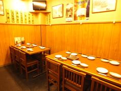 テーブルは最大12名様までご利用いただけます!
