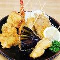 料理メニュー写真おまかせ揚げ盛り(5種)