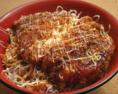 【丼物ベスト3】 3位 スタミナチキンカツ丼 (830円)