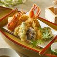 ●熟練の技を持つ職人が「さらに美味しい天ぷら」にこだわりました。●