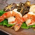 料理メニュー写真大海老と帆立貝柱・木の子のソテー