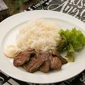 料理メニュー写真TERIYAKIビーフプレート