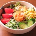 料理メニュー写真ほっとやサラダ