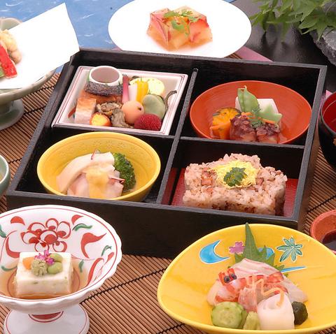 ≪かけはし御膳≫名物の明石蛸を天婦羅や蛸飯としてお楽しみ頂けるランチ御膳♪(お昼のみ)