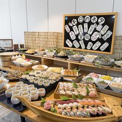 寿司 食べ放題 海の音 マリーナホップ 店のおすすめ料理1