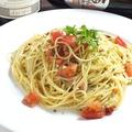 料理メニュー写真スパゲティ・ペペロンチーノ