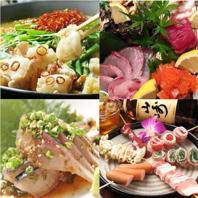 新鮮な海鮮類や福岡ならではの料理が豊富!