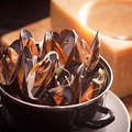料理メニュー写真国産「活」ムール貝のバケツ蒸し