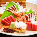料理メニュー写真鮮魚お造り盛合せ(弐の階限定びっくり盛り・3種・5種・7種)