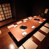 10名様までご利用いただける完全個室です!少人数での宴会や女子会などにおすすめです。