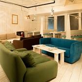 ふっかふかのソファー席は女子会はもちろん、ゆったりと楽しみたい方にぴったり!!3名様~ご利用いただけます!!!!