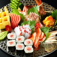 産地直送新鮮な魚介を思う存分適正なお値段で味わえる。