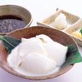 料理メニュー写真自家製すくい豆腐