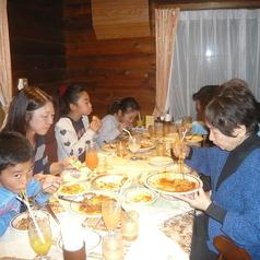 ご家族での誕生日会も人気です。