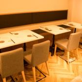 レイアウト自由なテーブル席☆少人数様から、10名様のご宴会など様々なシーンでご利用いただけます♪女子会にもオススメです!