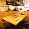 【2F】4名様テーブル席×1卓