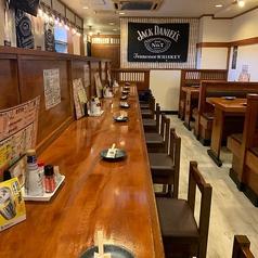 カウンターは全8席ご用意がございます。お一人のお客様でもお気軽にお越しいただけます♪